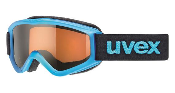 Gafas de esquí UVEX speedy pro azul/negro para niños